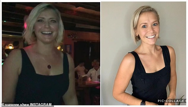 Suzanne Shaw unveils her incredible body transformation after ditching alcohol and going vegan