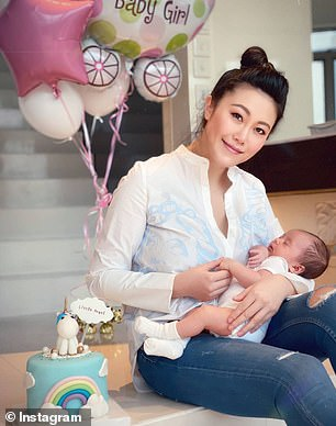 Socialite who 'jumped to her death holding her baby had a boyfriend who was not ready to marry'