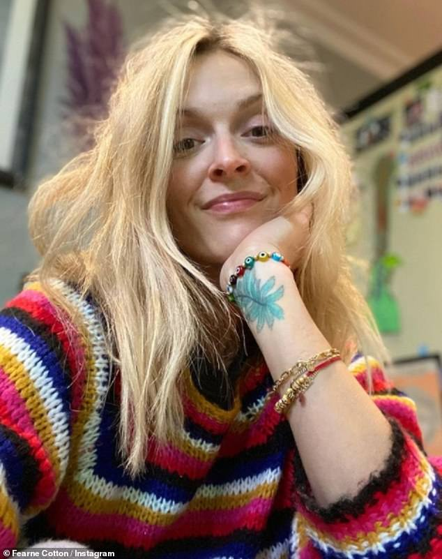 Fearne Cotton admits to having 'a hangover of depression' every day
