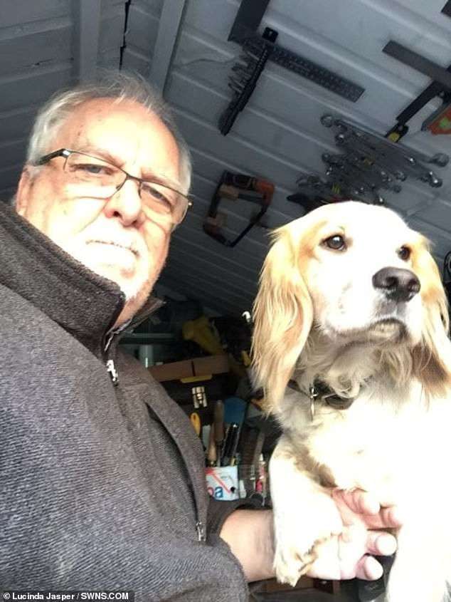 Daughter of pensioner whose beloved dog was snatched says he's in 'dark place' experiencing PTSD