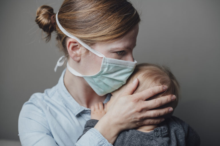 Depression During the COVID-19 Lockdown Highlights the Importance of Social Connections for New Moms